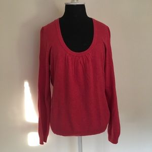 Boden Coral Scoop neck sweater